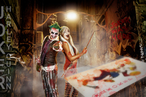Joker And Harley Quinn Cosplay Photography 4k