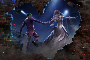 Joker And Harley Quinn Married
