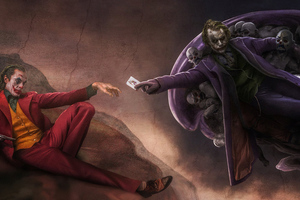 Joker And Heath Ledger 4k Wallpaper