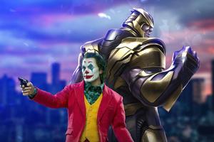Joker And Thanos