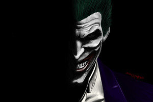 Joker Artwork 5k