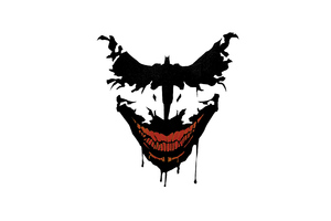 Joker Bat Art