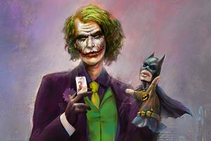 Joker Bat Puppet Wallpaper