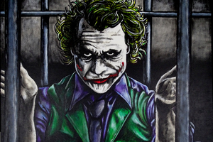 Joker Behind Walls