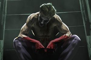 Joker By Bosslgic Wallpaper