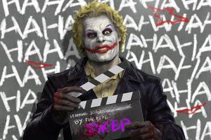 Joker By Real Wallpaper