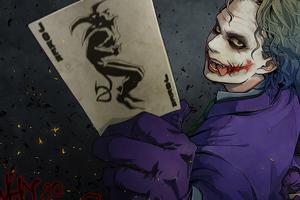 Joker Card 2020 Wallpaper