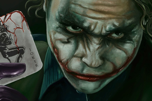 Joker Card Art