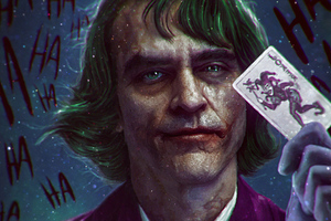 Joker Card Trump 4k