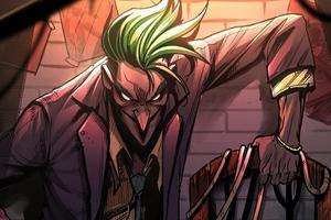 Joker Chair 4k Wallpaper