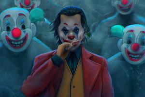 Joker Cigratte Clowns 4k Wallpaper