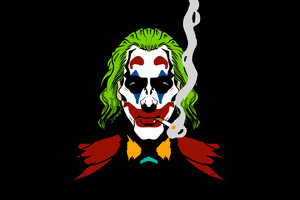 Joker Cigratte Smoking