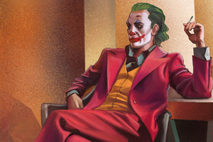 Joker CigratteTime Wallpaper
