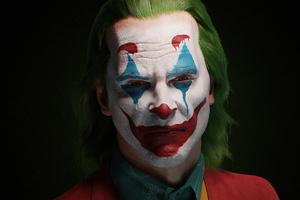 Joker Closeup 4k Artwork Wallpaper