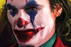 Joker Closeup Face 4k