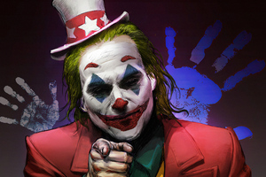 Joker Clown Face