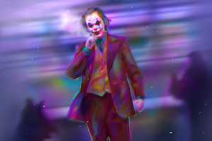 Joker Colorful Art Wallpaper
