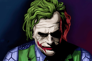 Joker Colorful Artwork 4k Wallpaper