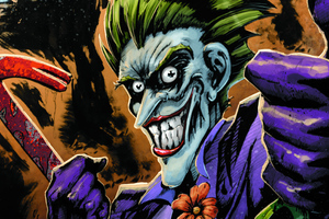 Joker Comic Cartoon Art