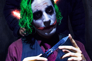 Joker Cosplay 2019 Wallpaper