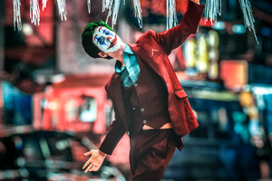 Joker Cosplay 2020 4k Wallpaper