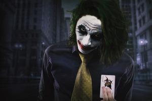 Joker Cosplay 5k Wallpaper