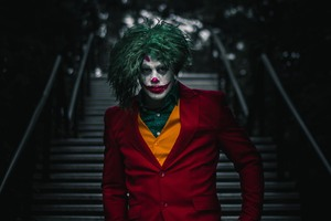 Joker Cosplay New 2019 Wallpaper