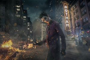 Joker Cosplay New