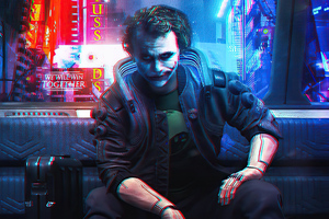 Joker Cyberpunk 4k Wallpaper