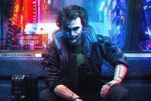 Joker Cyberpunk Wallpaper