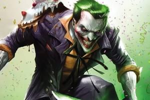 Joker Danger Laugh Art