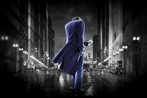 Joker Dark Walk Wallpaper