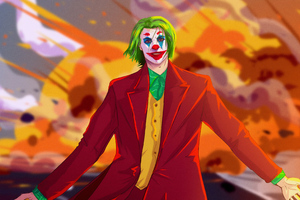 Joker Destruction Wallpaper