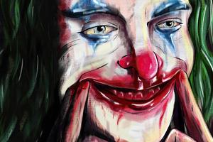 Joker Digital Painting 4k Wallpaper