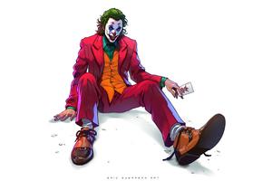 Joker Down 4k Wallpaper