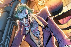 Joker Evil Art