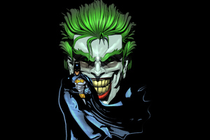 Joker Evil Laugh Batman Wallpaper