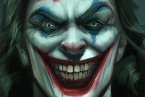 Joker Evil Smile 4k Wallpaper