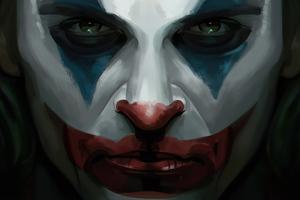 Joker Face Close Up 4k