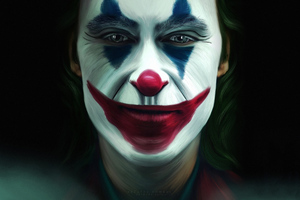 Joker Face Makeup Wallpaper