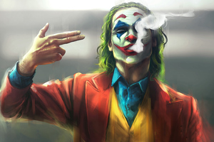 Joker Finger Gun Shot