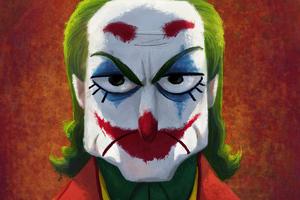 Joker Funny Sketch Art Wallpaper