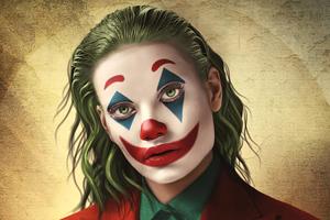 Joker Girl 4k Wallpaper