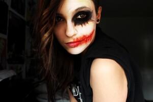 Joker Girl Makeup 5k