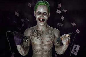 Joker Gives You Shock Wallpaper