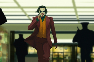 Joker Gone Away Wallpaper