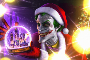 Joker Gotham Holiday