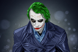 Joker Green Hair Wallpaper