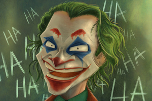 Joker Hahahahah Wallpaper