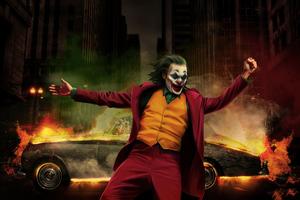 Joker Happy Dancing